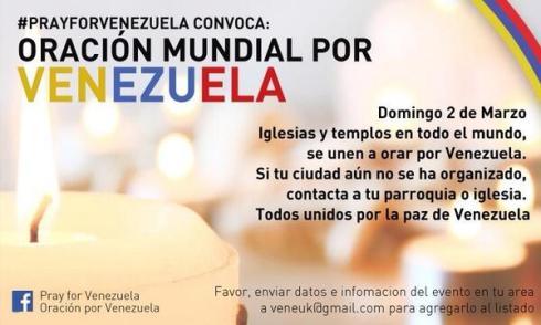 #PRAYFORVENEZUELA Mañana/Tomorrow/Amanhã 14/03/02 (RT @Soulphie @RCTVenlinea)