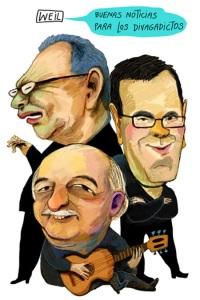 Divagancias con Pedro León Zapata, Miguel Delgado Estévez y Laureano Márquez